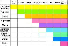 график прикорма