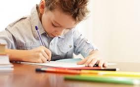 почерк ребёнка