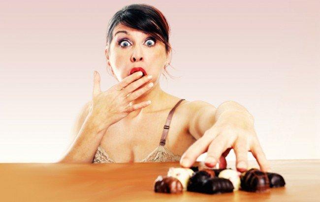 Конфеты -  соблазн и реальный вред фигуре минута на языке, потом килограммы на талии и бедрах