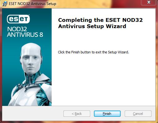 антивирусная программа ESET NOD32.