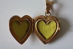 Медальон - сердечко