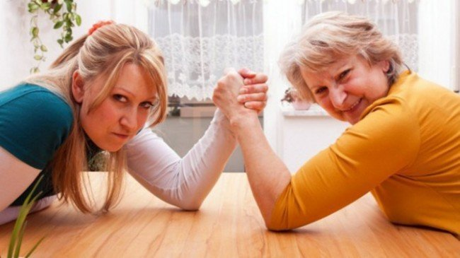 противостояние свекрови и невестки