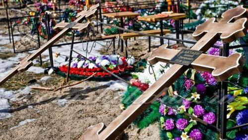 Пасха, кладбище