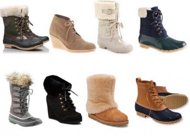зимняя обувь в ассортименте
