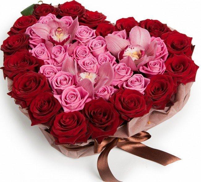 подарок из ста роз
