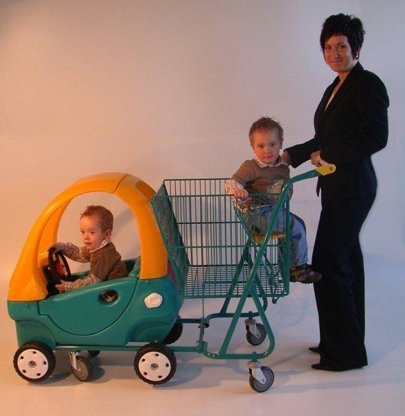 Тележка для двоих детей