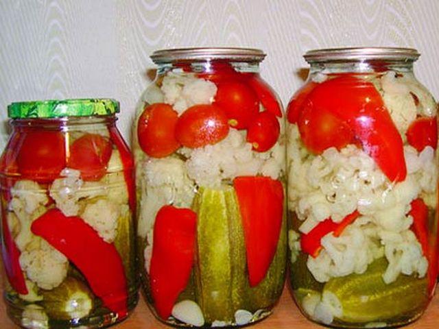консервация цветной капусты