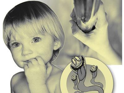 как защитить детей от заражения лямблиями