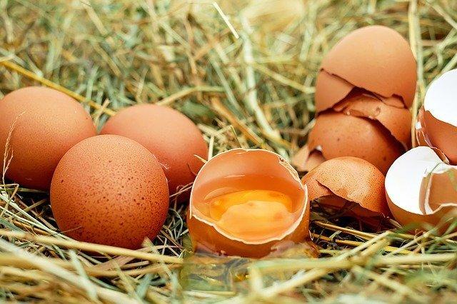 Сколько весит яйцо куриное без скорлупы