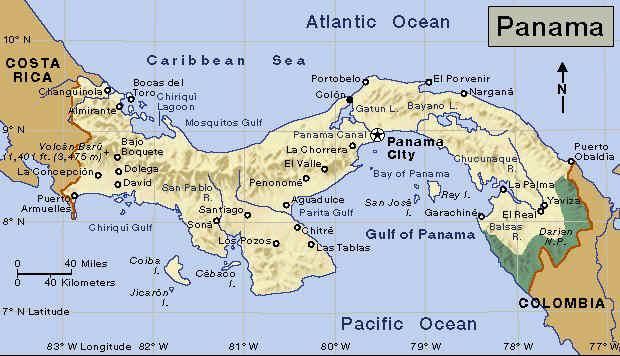 страна Панама