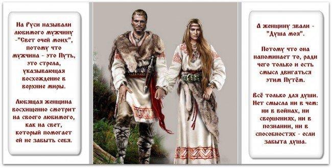 Как называли на Руси супруги друг друга