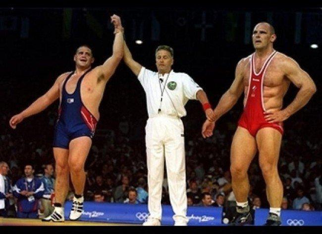 проигрыш Карелина на Олимпийских играх в Сиднее