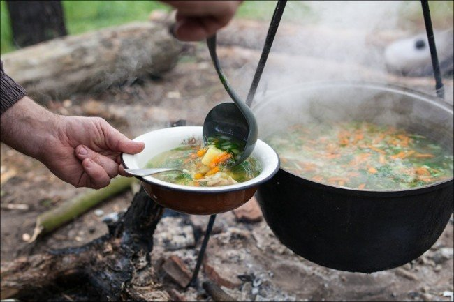 уха рецепт спасения блюда