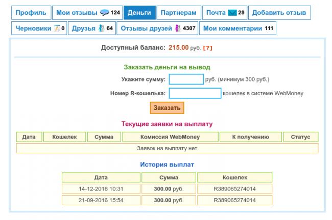 """Сайт отзывов """"Тутукс"""""""