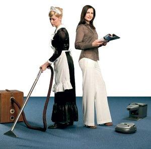 Хозяйка и домработница.