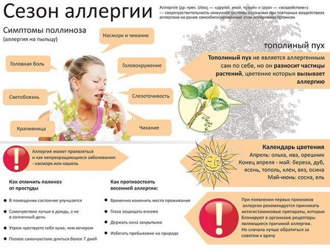 Беременность и сезонная аллергия