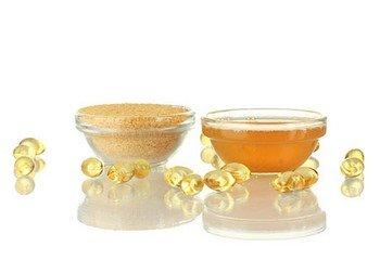 желатин и мед