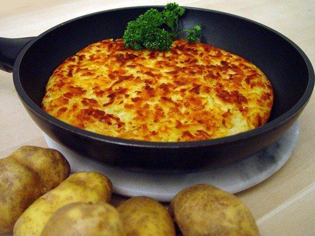 национальное картофельное блюдо