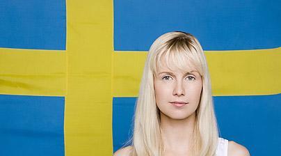 Как обращаются к даме в Швеции.