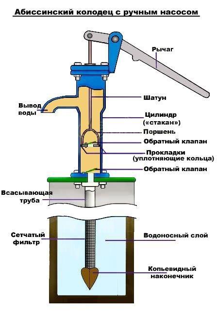 абиссинский колодец