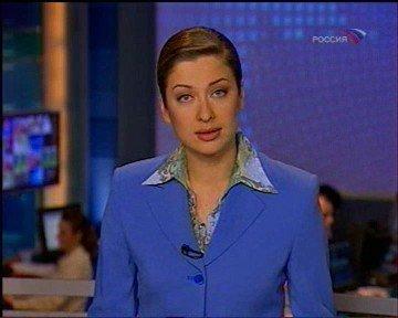 Телеведущая Мария Ситтель