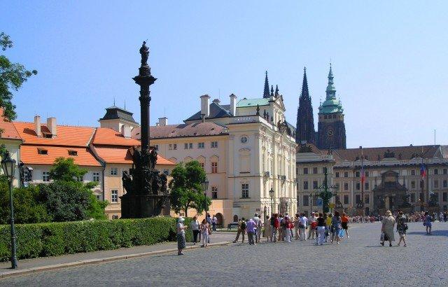 Градчаны. Исторический центр Праги.