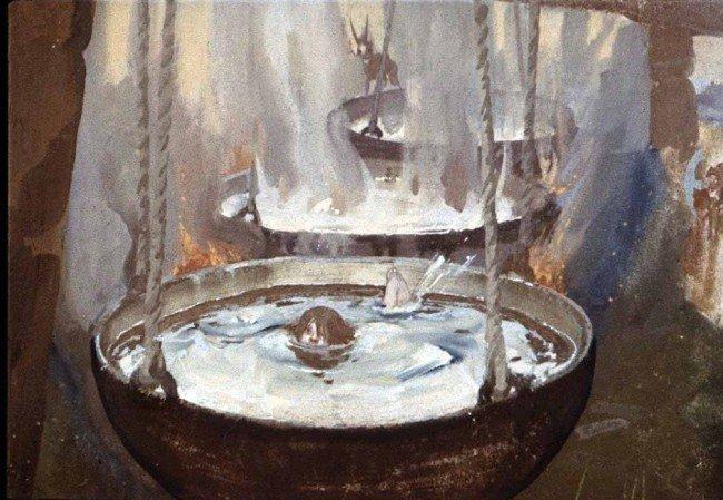 котел со студеной водой