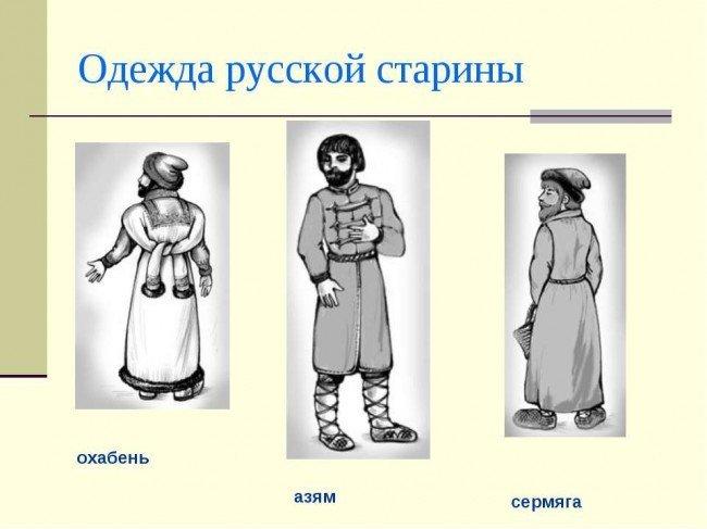 Одежда: история