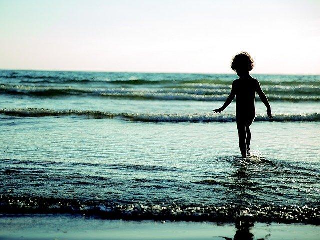 Море в детстве