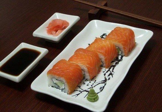 Суши рецепт в домашних условиях с имбирем
