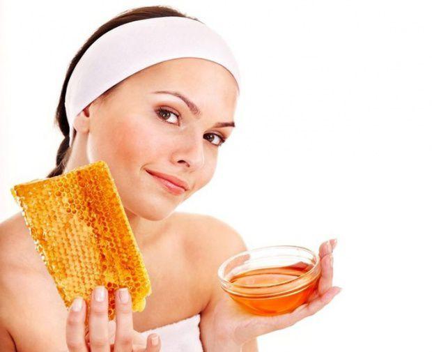 маска для лица на основе меда