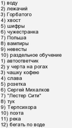 """Телеигра """"Кто хочет стать миллионером?"""": ответы за 4 марта 2017 года"""