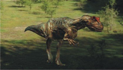 """Аллозавр - """"лев"""" юрского периода"""