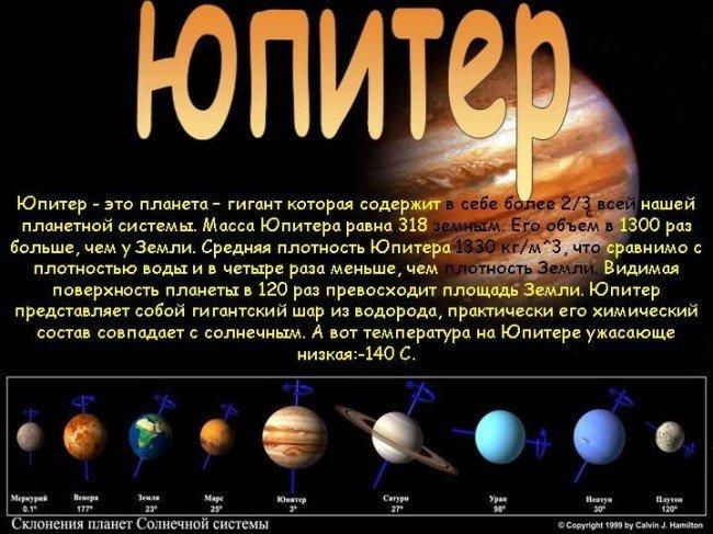 Гигант Юпитер