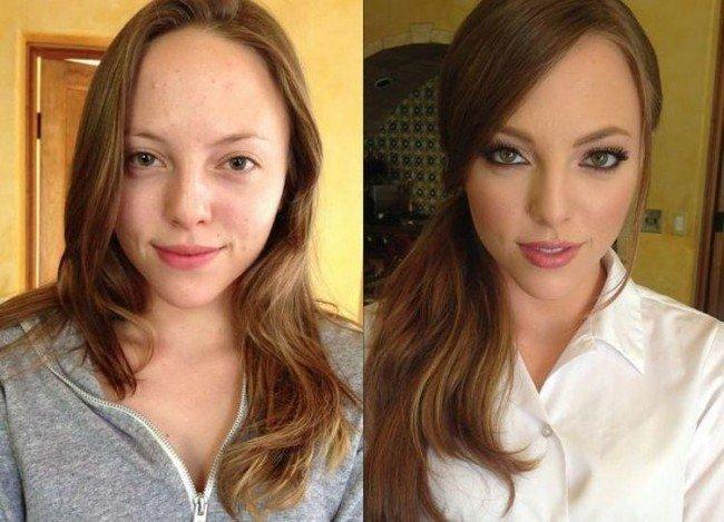 макияж или натуральная красота