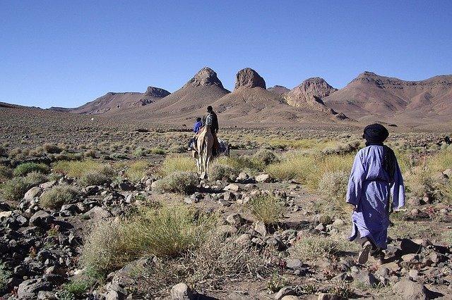 Туареги в пустыне Сахара