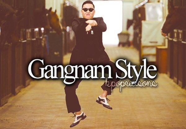 Gangnamstyle - популярный клип