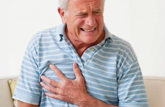 Боль в груди при инфаркте миокарда