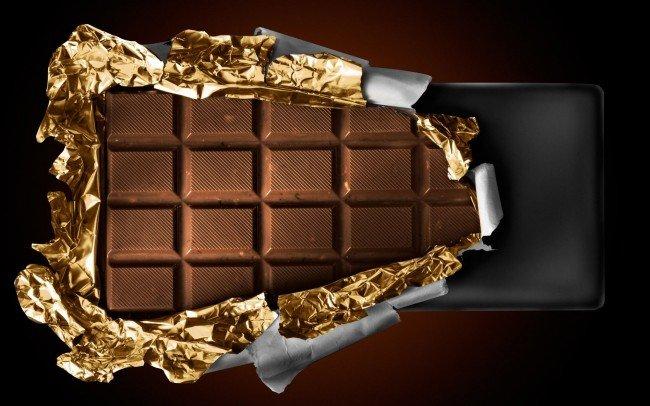 шоколад в походе незаменим