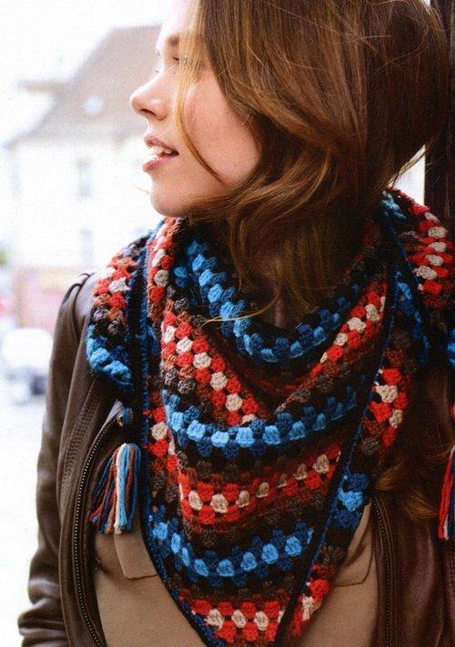 Как называется шарф треугольной формы?
