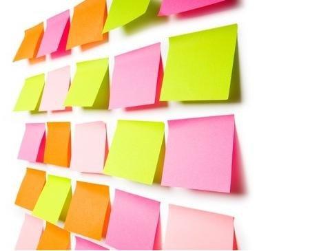Стикер/бумага для записывания информации, продается в любых канцтоварных магазинах