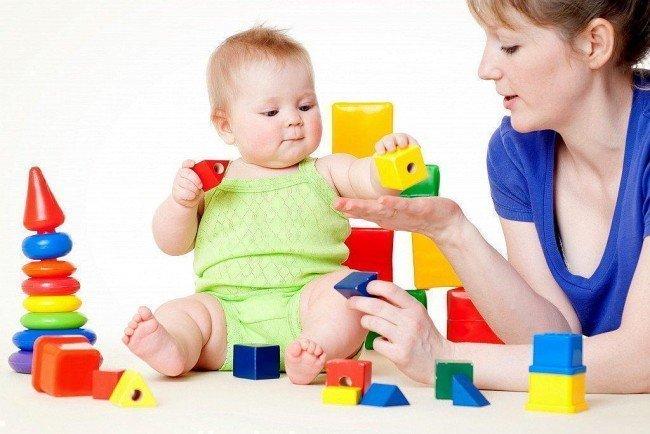 дети и развивающие игры