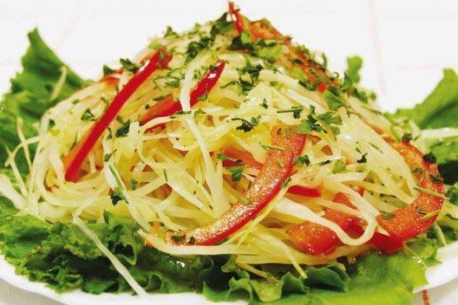 Салат с свежей капустой рецепты с простые и вкусные