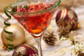 алкоголь на праздничном столе