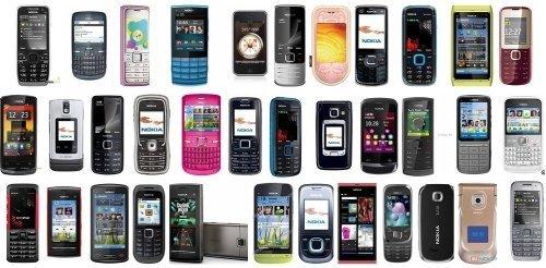 выбор сотовых телефонов