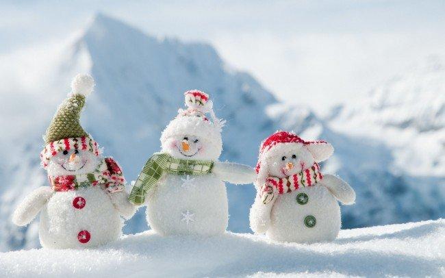 зима и счастье