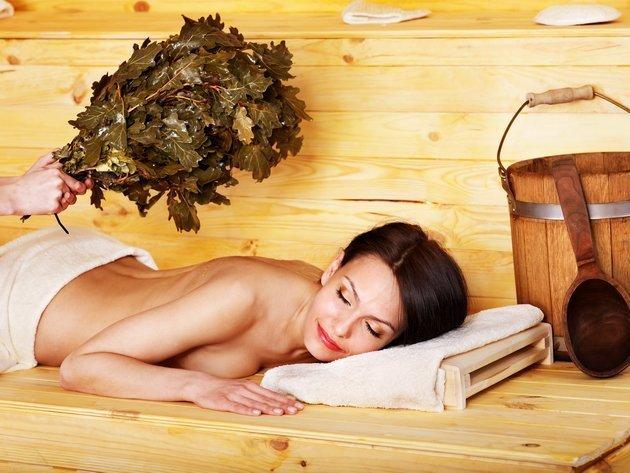 Баня и сауна для тонуса кожи