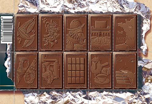 Марки со вкусом шоколада
