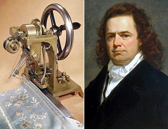 Элиас Хоу - изобретатель швейной машинки.