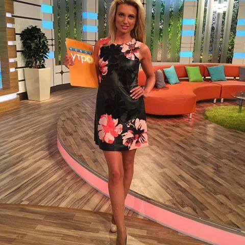 Ольга Жук - телеведущая